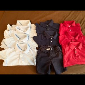 children's Place polo tops